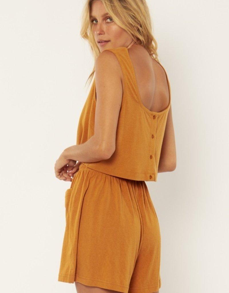 Amuse Society Kenza Knit Short - Amber Light