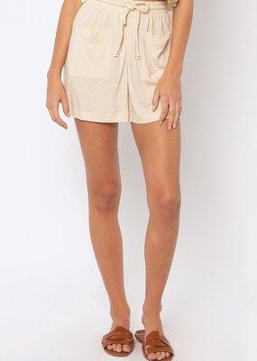 Amuse Society Kenza Knit Short - Off White