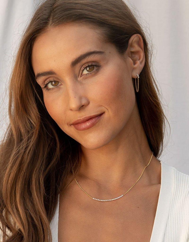 Gorjana  Wilder Shimmer Delicate Necklace