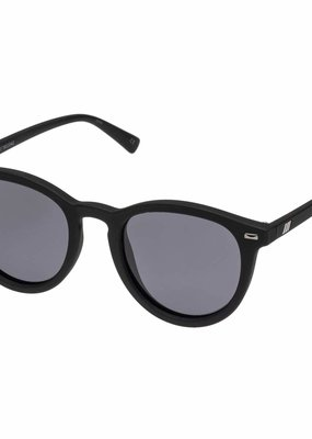 Le Specs Fire Starter Sunglasses - Black Rubber