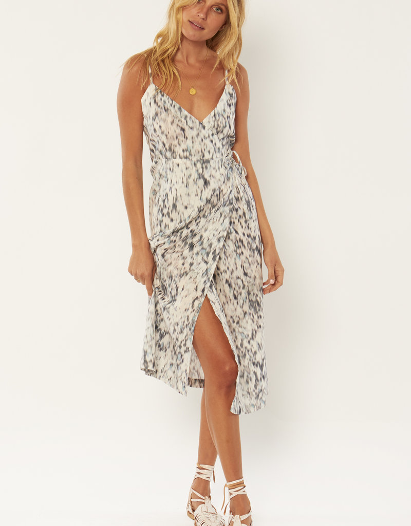 Amuse Society Julia Woven Midi Dress