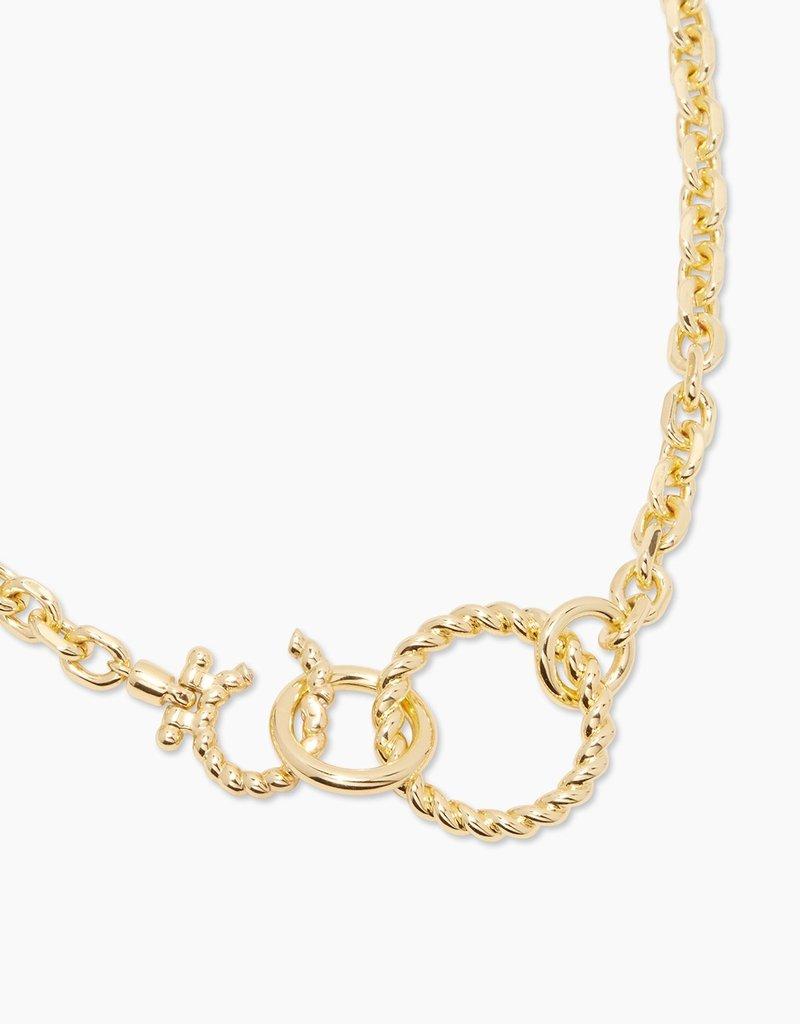 Gorjana Crew Link Necklace