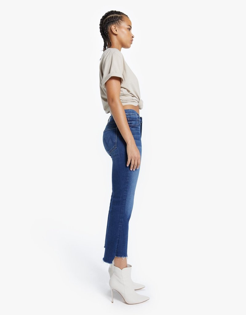 Mother The Insider Crop Step Fray - Sweet And Sassy