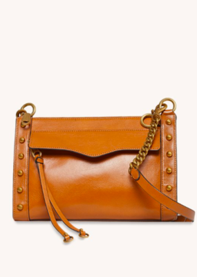 Rebecca Minkoff M.A.B. Crossbody With Studs - Caramello