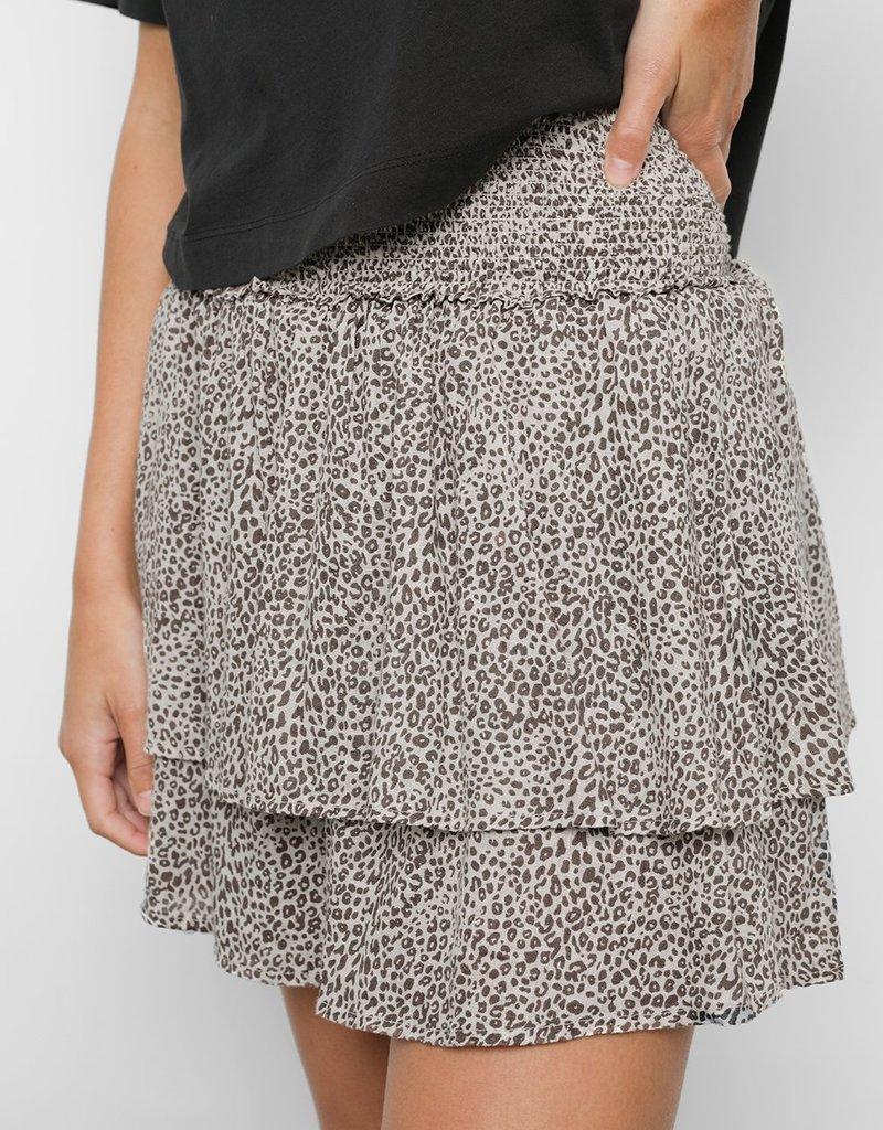 Rails Addison Skirt - Sand Cheetah