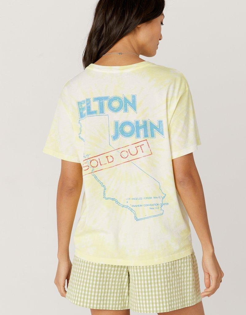 Daydreamer Elton John Tour 1980 Boyfriend Tee