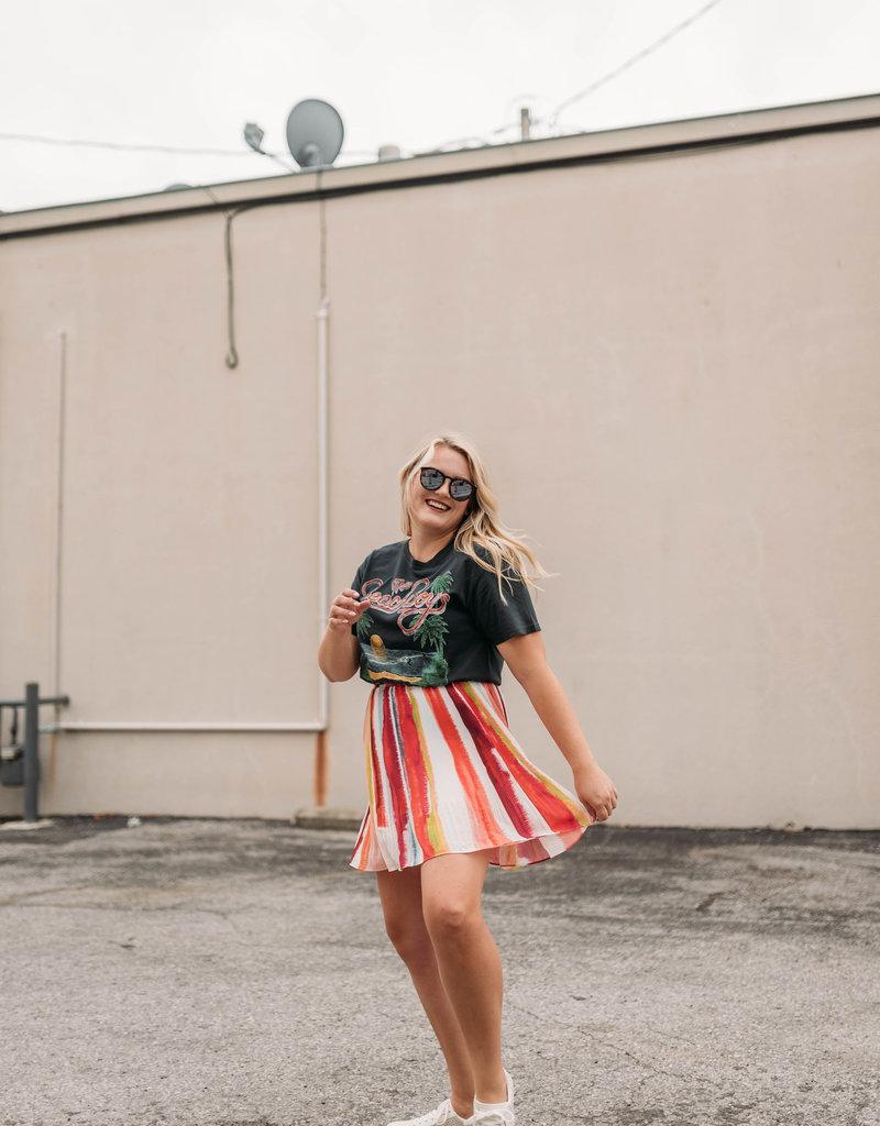 BB Dakota Color My World Skirt