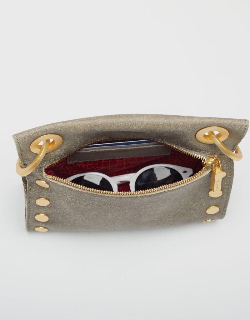 Hammitt Tony Small Crossbody Bag - Pewter/Brushed Gold