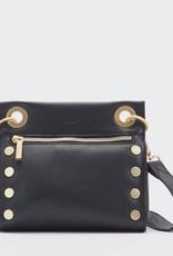 Hammitt Tony Small Crossbody Bag - Black/Brushed Gold