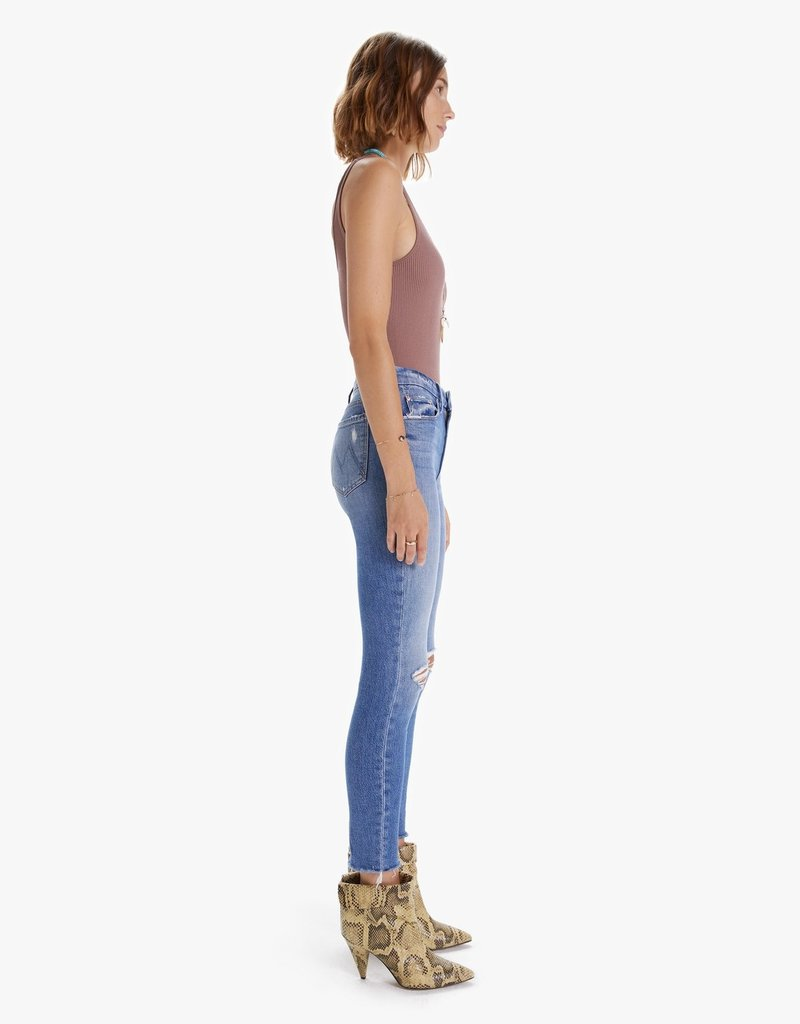 Mother  The Looker Ankle Fray - Not Cut & Pasted