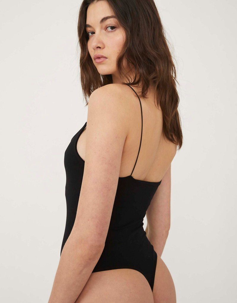 Free People Offline Bodysuit - Black