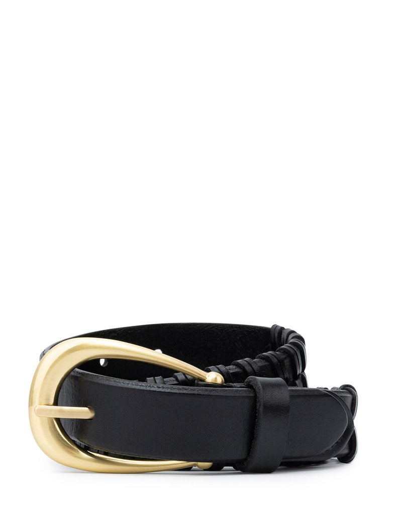 Sancia Clarisse Woven Belt - Black