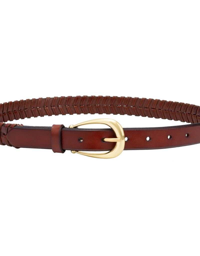 Sancia Clarisse Woven Belt - Tan