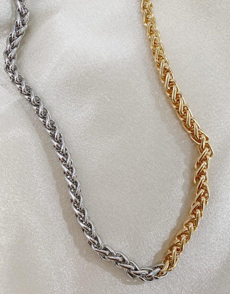 Bracha Hailee Two Tone Rope Chain