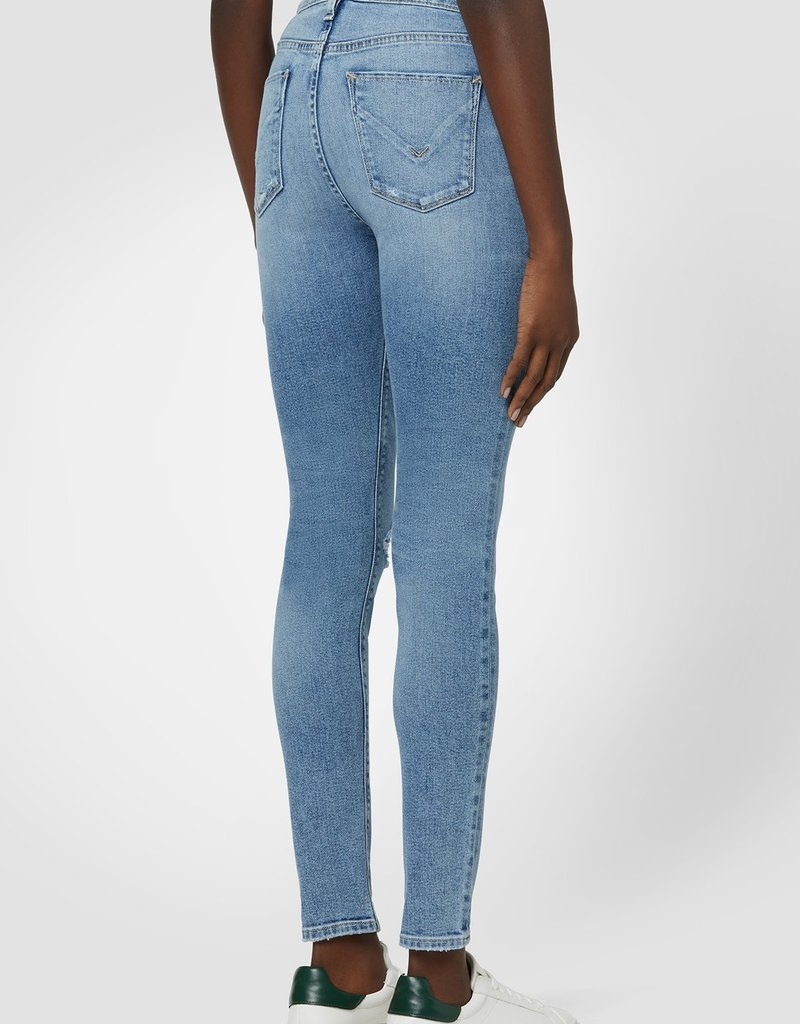 Hudson Barbara High-Rise Super Skinny Crop Jean - Magic Moon