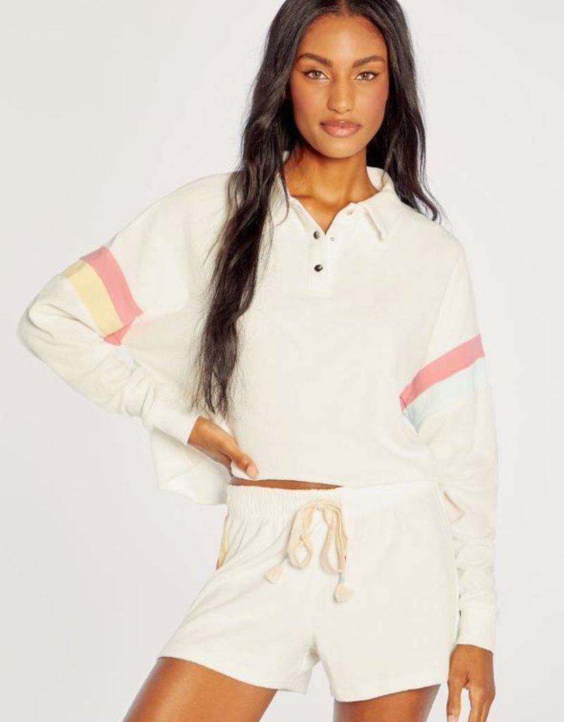 Wildfox Candy Stripe Miami Polo