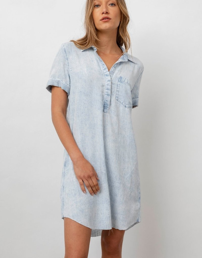 Rails Valerie Acid Wash Dress