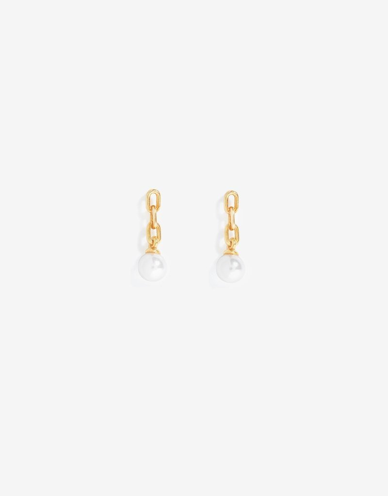 Shashi Pearl Justice Earrings