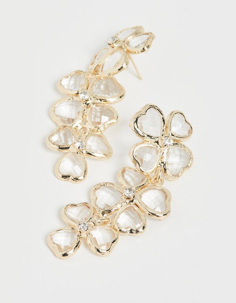 Shashi Bouton d'or Earrings