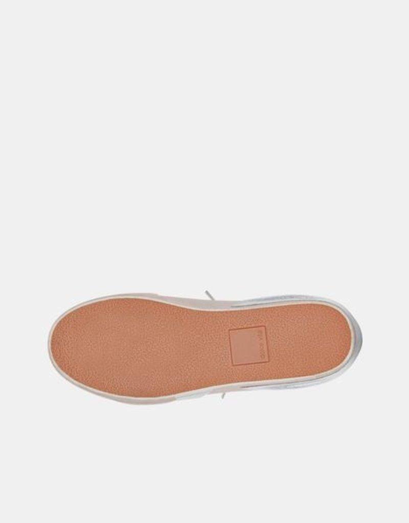Dolce Vita Zina Sneakers - Dune Metallic Calf Hair