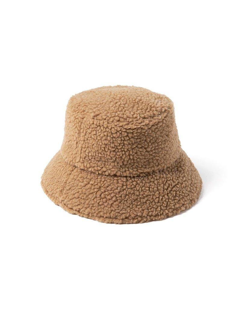 Lack of Color Teddy Bucket - Camel