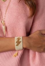 HART Lightning Bolt Beaded Bracelet