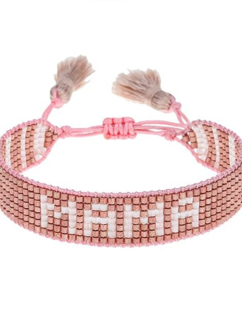 "HART Rose Gold ""Mama"" Bracelet"