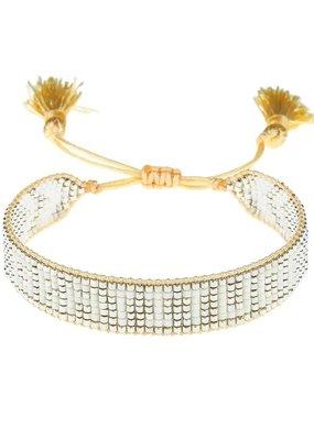 """HART """"Gratitude"""" Beaded Bracelet"""
