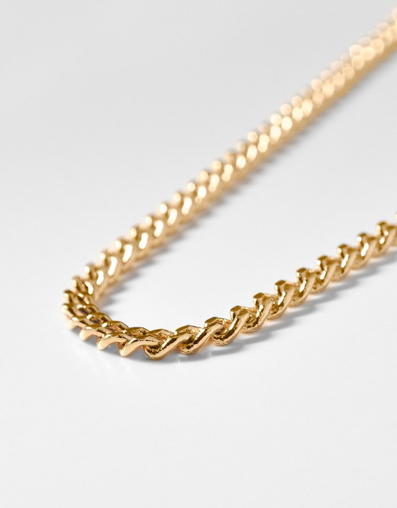 Thatch Mini Drew Curb Necklace - Small