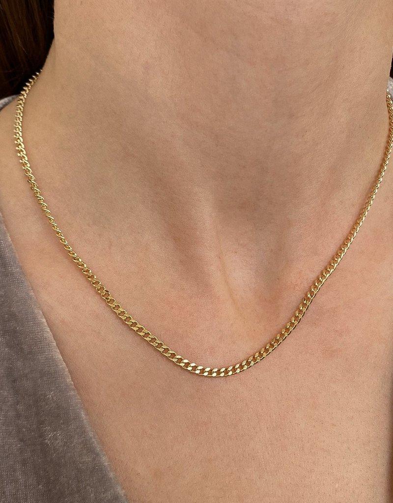 Thatch Mini Drew Curb Necklace - Large