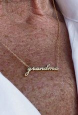Thatch Grandma Necklace