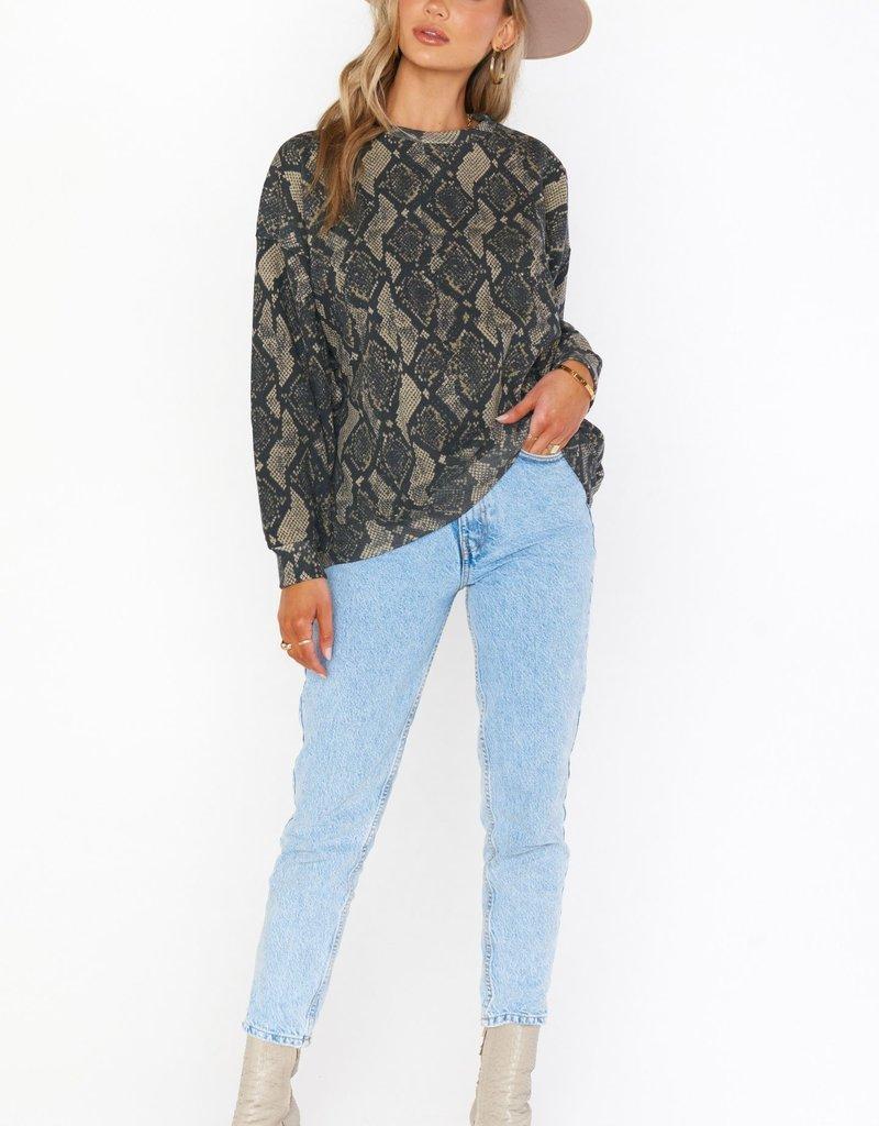 Show Me Your Mumu Boyfriend Sweatshirt
