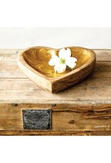 LABEL Canberra Wooden Heart Tray