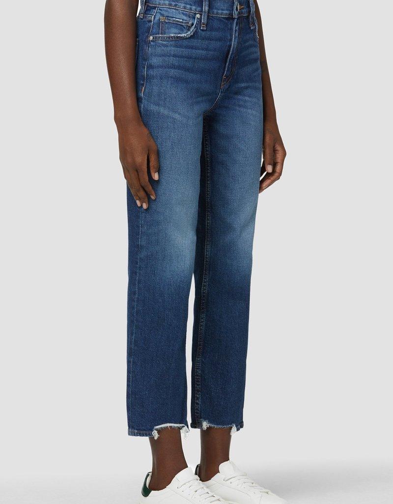 Hudson Remi High-Rise Straight Crop Jean - Blue Rose