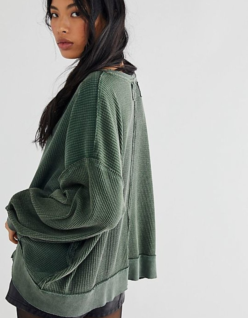 Free People Buttercup Thermal - Aged Pine