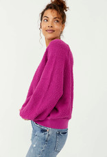Free People Found My Friend Pullover - Wild Aster