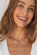 Gorjana Parker Mini Necklace - Silver