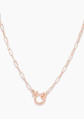 Gorjana Parker Mini Necklace - Rose Gold