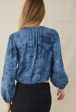 Bella Dahl Elastic Shirred Top