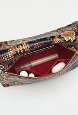 Hammitt VIP Medium Leather Crossbody Clutch  - Botanical Snake