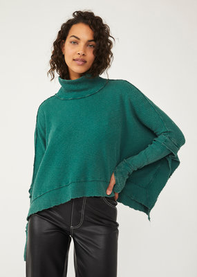 Free People Moon Daisy Pullover - Everglade