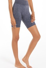 Z Supply Dance It Out Seamless Short - Washed Black