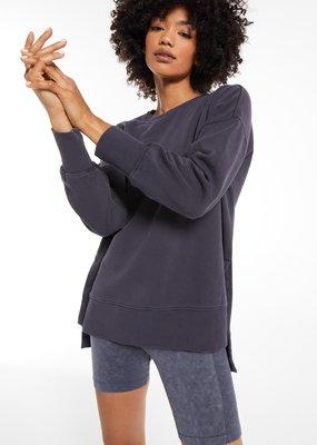 Z Supply Layer Up Sweatshirt - Washed Black