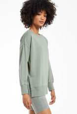 Z Supply Layer Up Sweatshirt - Agave Green