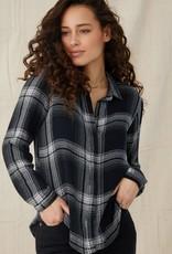 Bella Dahl Clean Front Hipster Shirt