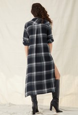 Bella Dahl Rolled Sleeve Duster Dress