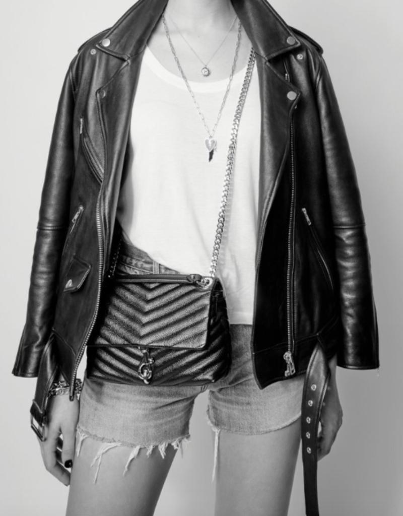 Rebecca Minkoff Edie Crossbody - Black