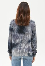 Michael Stars Piper Reversible Tie Dyed Pullover