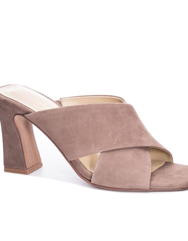 42 Gold Saldana Heeled Sandal