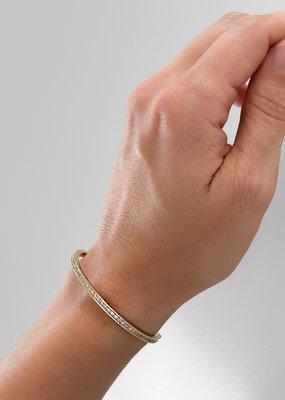 Thatch Goldie Pavé Cuff Bracelet